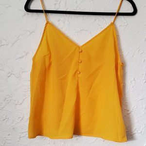 3/$20 Ardene Yellow Tank Top